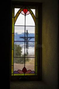 San Luis Catholic Church In Colorado Stock Photo