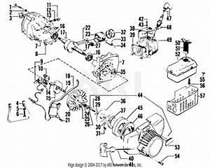 Poulan 1000 G Trimmer Gas Trimmer Parts Diagram For Power Unit