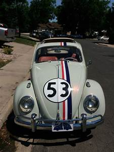 1963 Vw Beetle Herbie Fully Animatronic Volkswagen Love Bug Movie Car For Sale  Photos