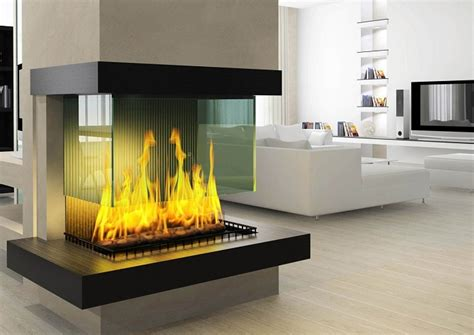 clean electric fireplace glass step  step