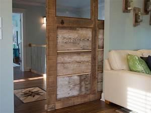 How to Build a Reclaimed Wood Sliding Door how-tos DIY