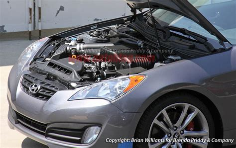 Hyundai Genesis Coupe 3 8 Supercharger Kit by Supercharged Hyundai Genesis Coupe Photo Gallery Autoblog