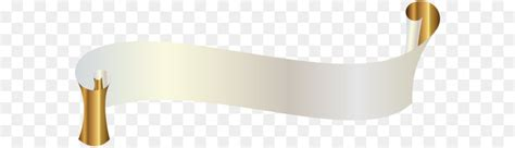 white banner  gold png clipart image png