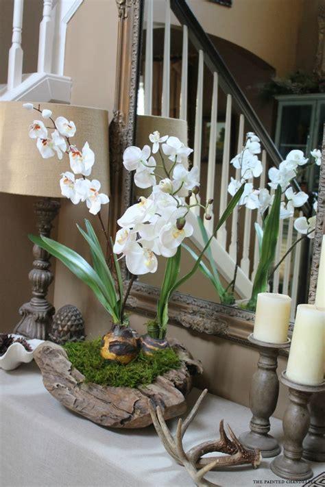 orchid   rustic bowl arrangement