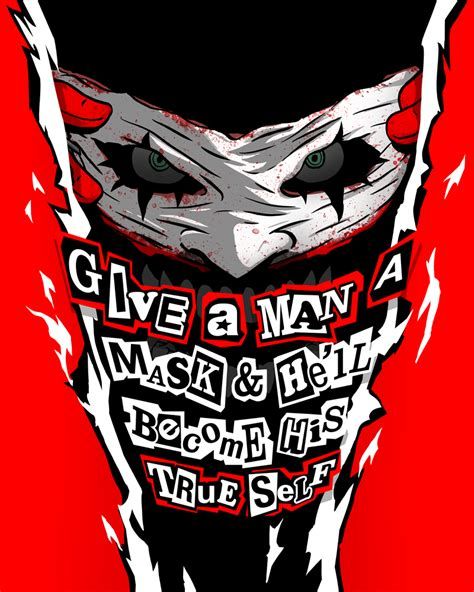 The Dark Knight Hd Dc X Persona 5 Quote By Svenfromoz On Deviantart