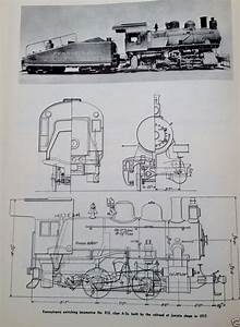 Steam Locomotive Diagram Illustration Schematic