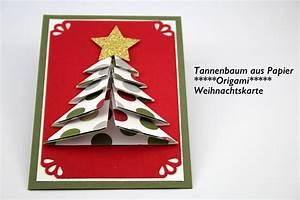 Tannenbaum Selber Basteln : origami tannenbaum aus papier anleitungsvideo ~ Yasmunasinghe.com Haus und Dekorationen