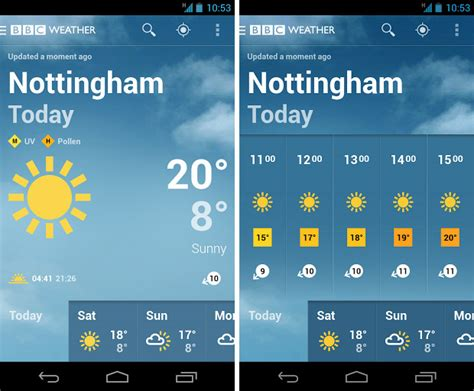 free weather apps for android launches free weather app for android and it s jolly