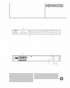 Service Manual For Kenwood Dvf-3080-s
