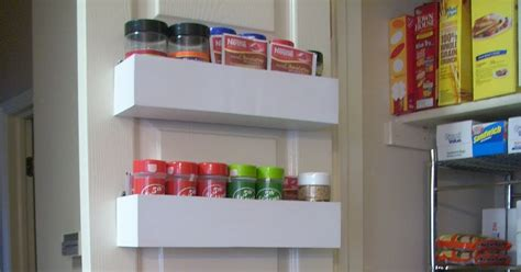 Pantry Door Spice Racks by Robbygurl S Creations Diy Pantry Door Spice Racks
