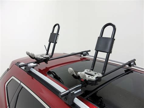 nissan rogue yakima carriers watersport carrier kayak roof mounted