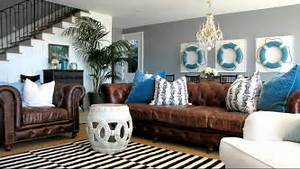 Image of: Beach House Design Idea Nautical Themed Interior Decorating Idea Youtube How To Bring Nautical Home Decor To Any Room Of Your Home