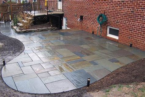 slate patio designs johnson patios design ideas