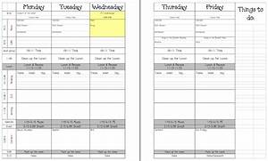 teacher laura 5 day lesson plan template education With day plan template for teachers