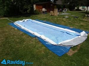 Bache Pour Piscine Rectangulaire : comment monter une piscine tubulaire montage et ~ Dailycaller-alerts.com Idées de Décoration