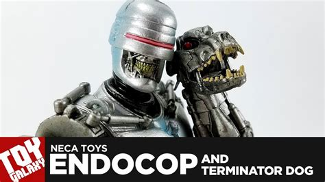neca toys endocop  terminator dog review youtube