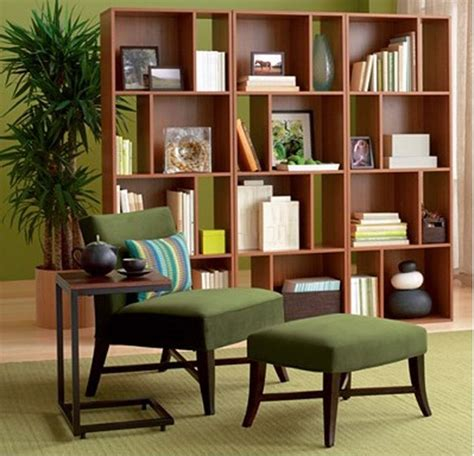 Creative Bookcase Room Dividers Idea To Keep Your Rooms