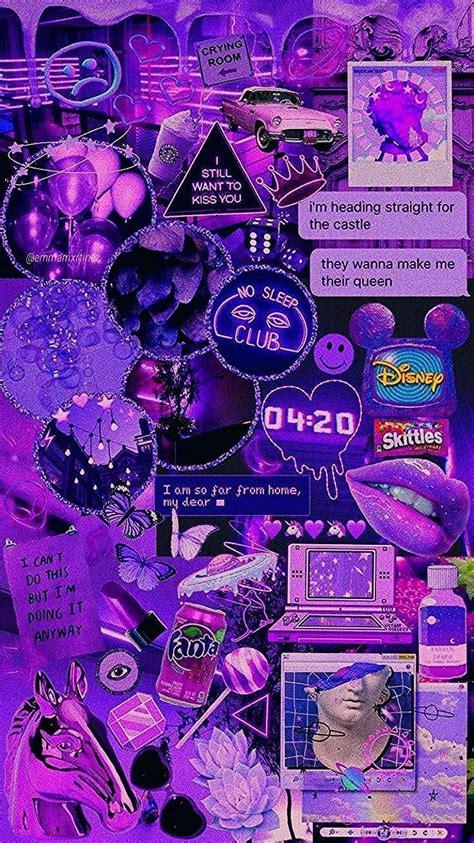 aesthetic wallpaper ungu