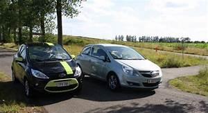 Ford Ka Interieur : duo test ford ka vs opel corsa ecoflex ~ Maxctalentgroup.com Avis de Voitures