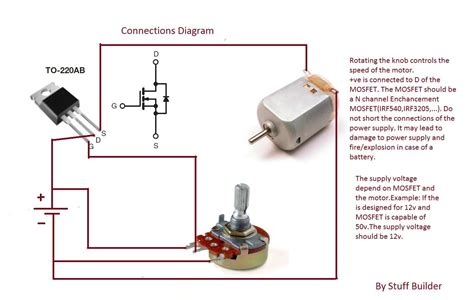 How Build The Simplest Motor Speed Controller Using