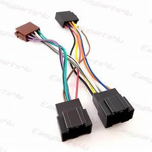 Chevrolet  Aveo  Captiva  Corvette  Silverado  Tacuma Iso Lead Wiring Harness Radio Adaptor