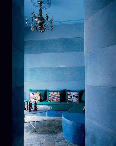 Marrakech Moody Blue Home   Interiors By Color