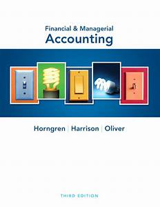 Weygandt Financial Accounting Solution Manual