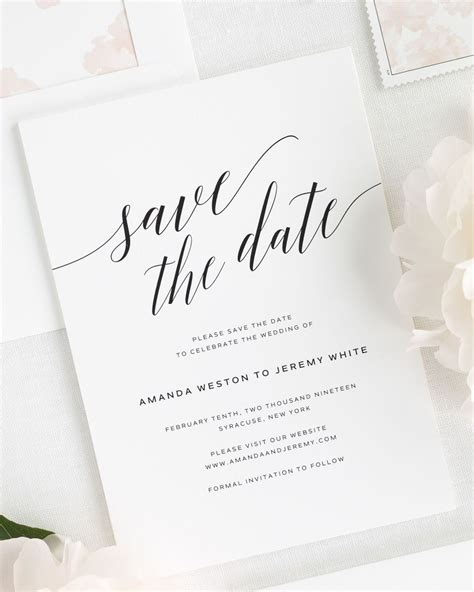 Daring Romance Save the Date Cards Save the Date Cards