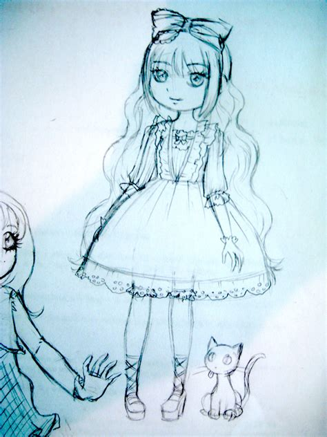 cute doll  shoujo neko  deviantart