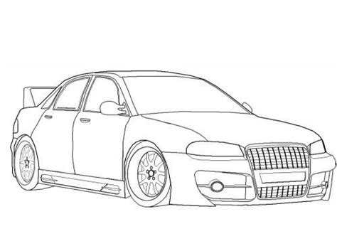 Bmw Kleurplaten A4 by Racing Car Audi A4 Coloring Page Hell Yes History