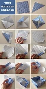 Boite Rangement Papier : diy des boites en forme de maison en papier origami ~ Teatrodelosmanantiales.com Idées de Décoration