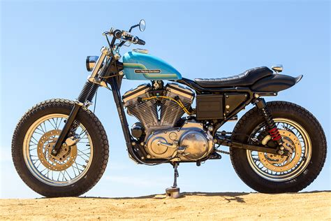 Custom Dirt Track Harley-davidson Sportster 883