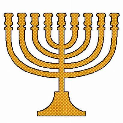 Menorah Hanukkah Clip Clipart Candles Candle Cliparts