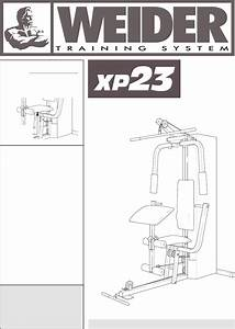 Weider Home Gym Wesy81081 User Guide