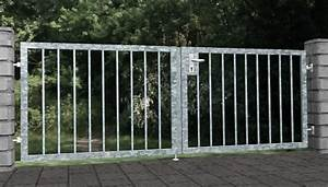 Www Gartentor De : gartentor verzinkt 2 flg massiv2 gerade metallbau ~ Sanjose-hotels-ca.com Haus und Dekorationen