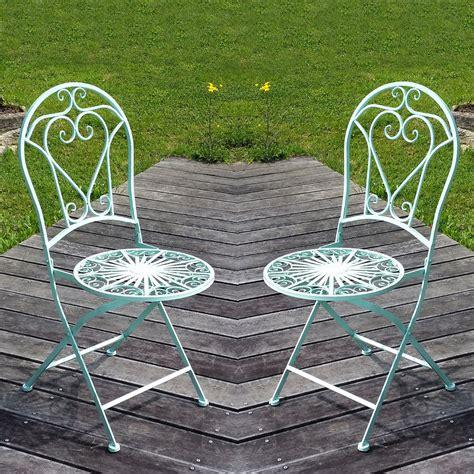 chaises en fer forgé chaise en fer forgé prix pour la paire salon de jardin