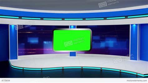 templates vegas telejornal education tv studio set 02 virtual green screen ba stock