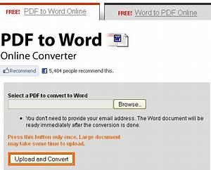 convert pdf to word text html and image online free With word documents convert to pdf free