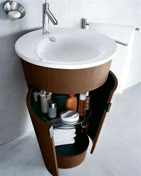Small Bathroom Sinks With Storage by 1000 Ideas About Small Bathroom Sinks On