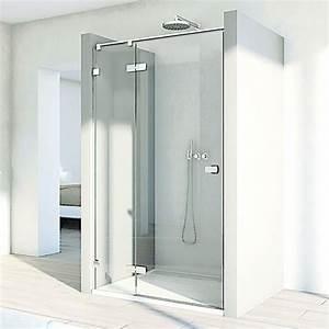 Paroi De Douche Sur Mesure : paroi de douche en verre configurable sur mesure melia ~ Nature-et-papiers.com Idées de Décoration