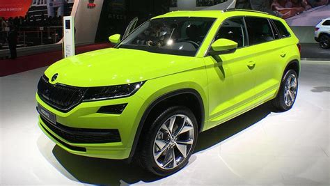 Skoda Kodiaq Rs Suv On The Cards