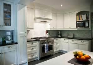 Backsplash With White Kitchen Cabinets White Shaker Cabinets Transitional Kitchen Deslaurier Custom Cabinets