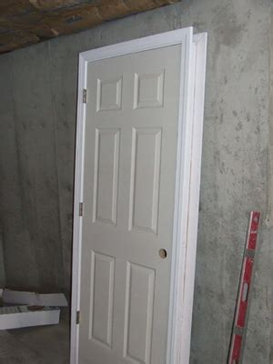 how to install a prehung interior door how to install split jamb pre hung doors
