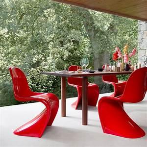Stuhl Panton Chair : panton chair original stuhl von vitra connox ~ Markanthonyermac.com Haus und Dekorationen