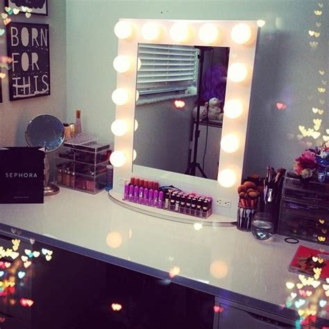 vanity table with light up mirror broadway lighted table top vanity mirror from vanity