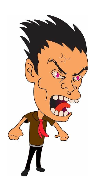 Angry Clipart Transparent Clip Mand Person Annoyed