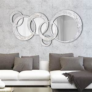 Miroir Dcoratif Mural Design Italien Circles Dcor La