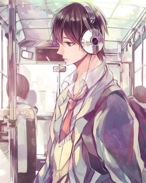 Best Anime Boy With Headphones Ideas And Images On Bing Find