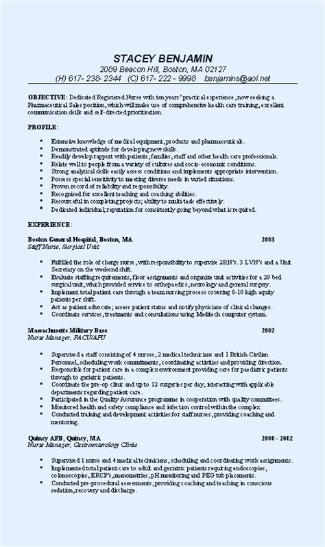 march  archive page  professional resume summary