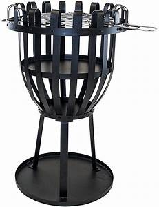 Feuerkorb Mit Grill : wald garten feuerkorb mit grillfunktion aberdeen ~ Markanthonyermac.com Haus und Dekorationen